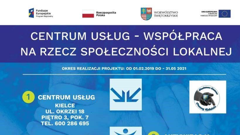 plakat - Centrum Usług